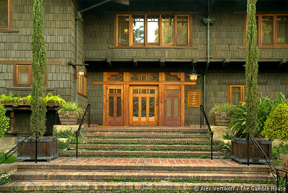 Exterior Photographs of The Gamble House Gamble House