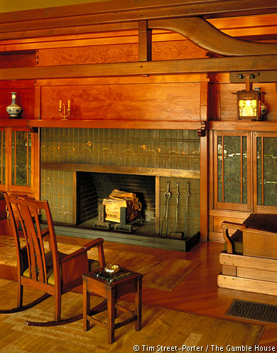 Interior Photographs of The Gamble House | Gamble House