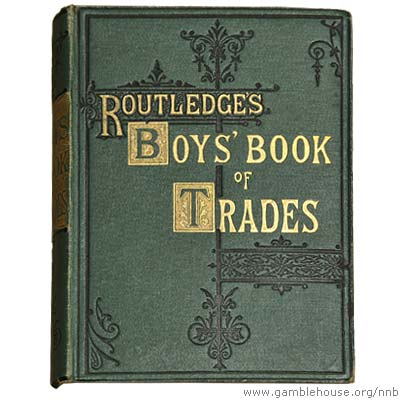 The Boys' Book of Trades and the Tools Used in Them