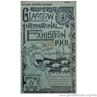 Brochure for Glasgow International Exhibition