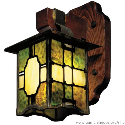 Adelaide A. Tichenor Living room wall sconce