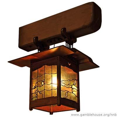 Robert R. Blacker Newel post lantern