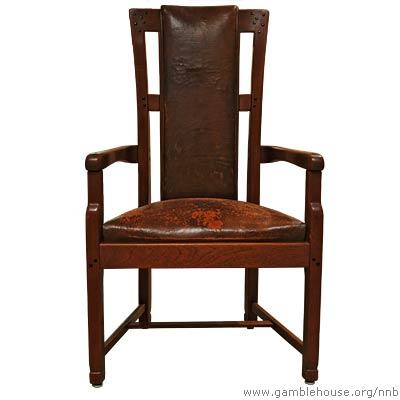 Robert R. Blacker Entry hall armchair