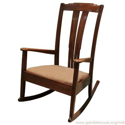 Robert R. Blacker Bedroom rocking chair