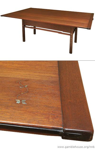 Robert R. Blacker Dining room table