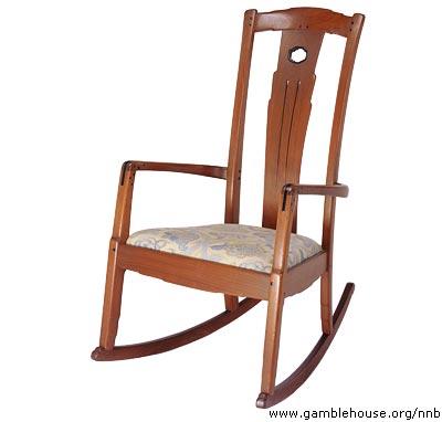 David B. Gamble Bedroom rocking chair