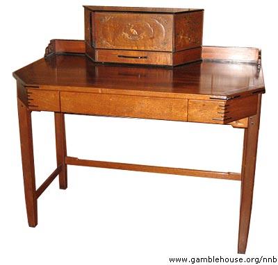 David B. Gamble Living room desk