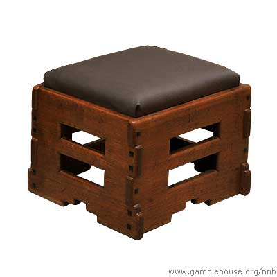 Freeman Ford Living room foot stool