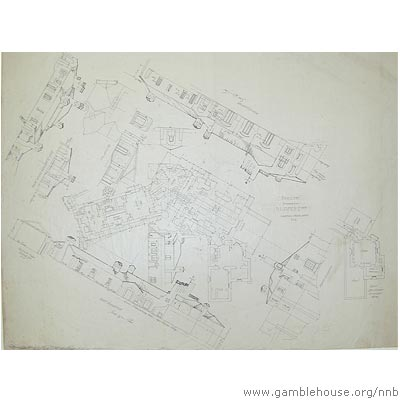 D.L. James architectural drawing