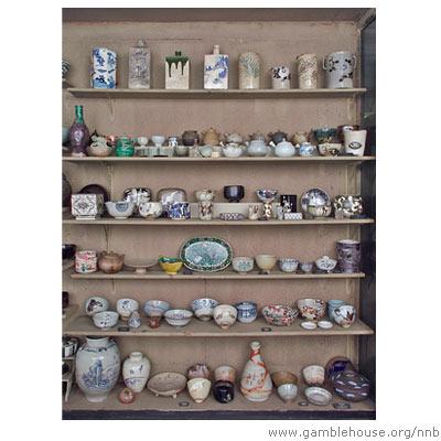 Morse Pottery Room, Museum of Fine Arts, Boston