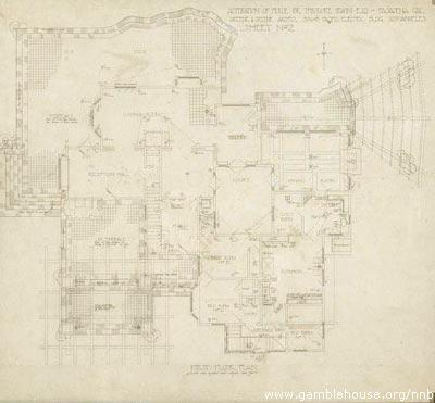 Theodore Irwin, Jr. First Floor Plan